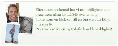 LCHF evenemang